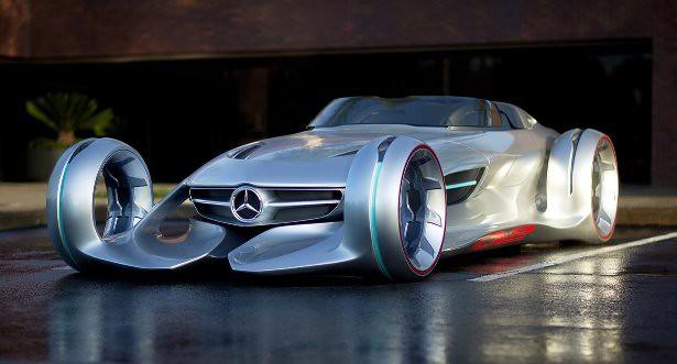 Great Mercedes Benz Silver Arrow Concept. Será Esse O Futuro Dos Carros Da  Mercedes?