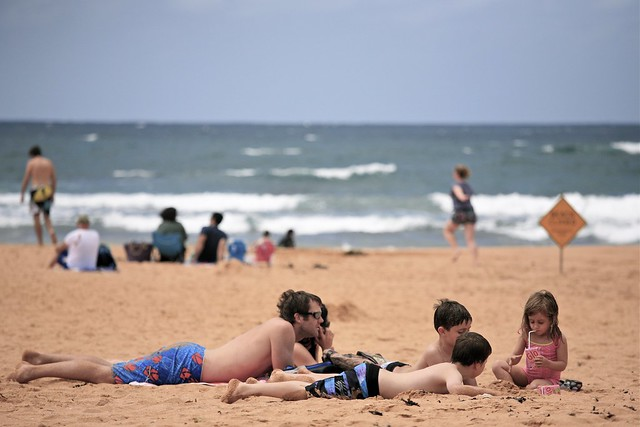 With the Family, Mona Vale Beach