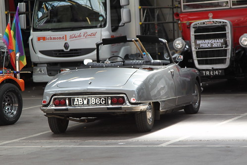 Citroen DS20 Convertible by Rally Pix