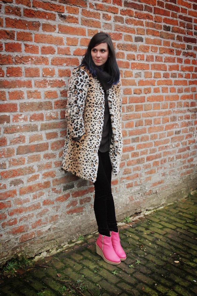 Blue, Leopard, Pink