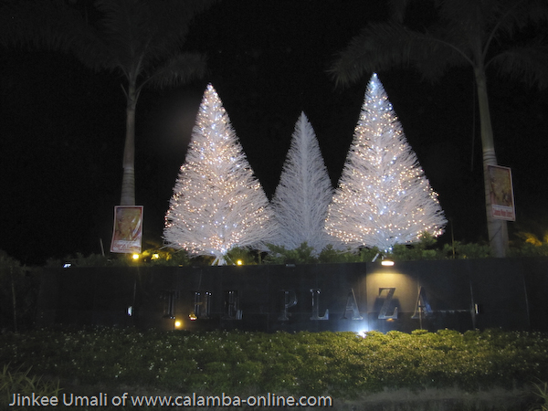 Christmas Display 2011 at the Calamba Plaza