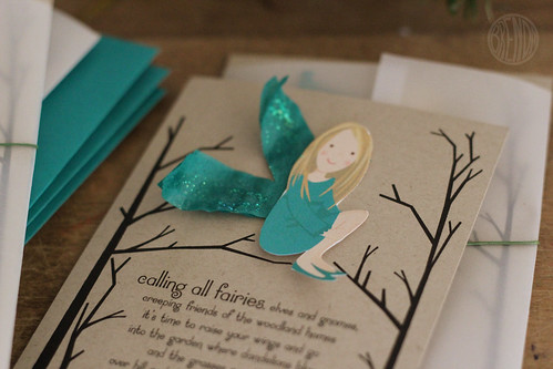 fairy party invite