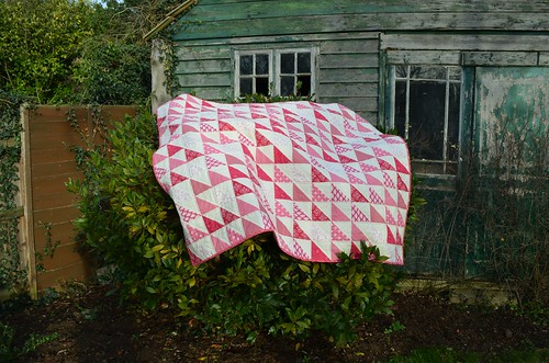 Tilda Triangles Quilt