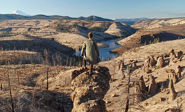 wanderer above the hoodoos
