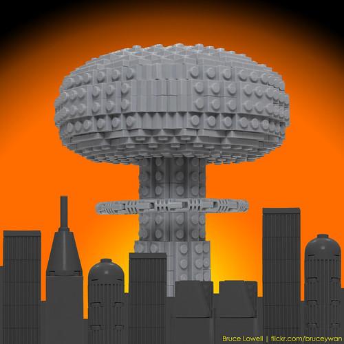 LEGO Nuclear Bomb