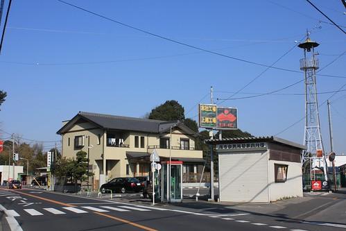 瓦葺の火の見櫓(上尾市)