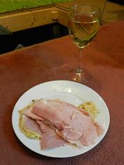 Ham & vino