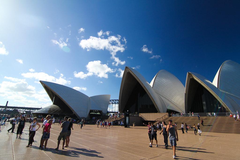 ++雪梨歌劇院 雪梨大橋 跨年煙火++