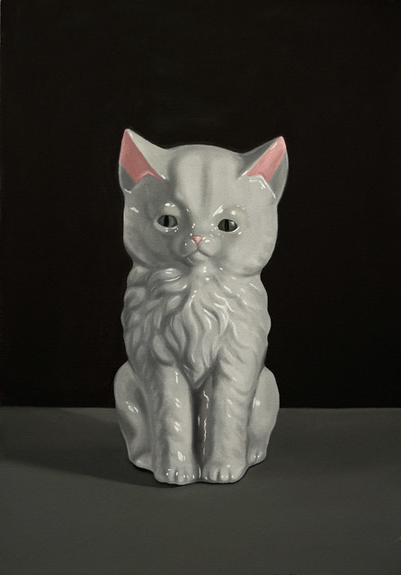"Kitten - 16 x 23"" - Cassie Marie Edwards"