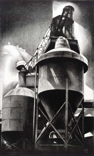 Louis Lozowick, Tanks #2 (1929)