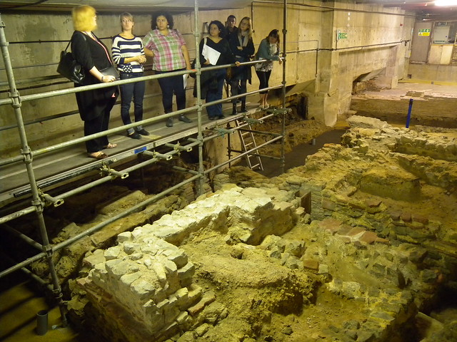 A tour of the Roman remains