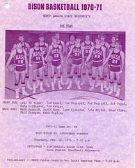 Men's Basketball vs. Augustana - 1971