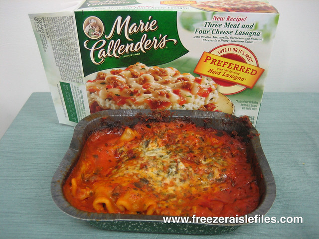 Marie Callender's Three Meat and Four Cheese Lasagna | Flickr - Photo ...