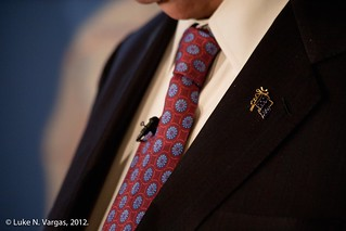 Gingrich's Lapel Pin
