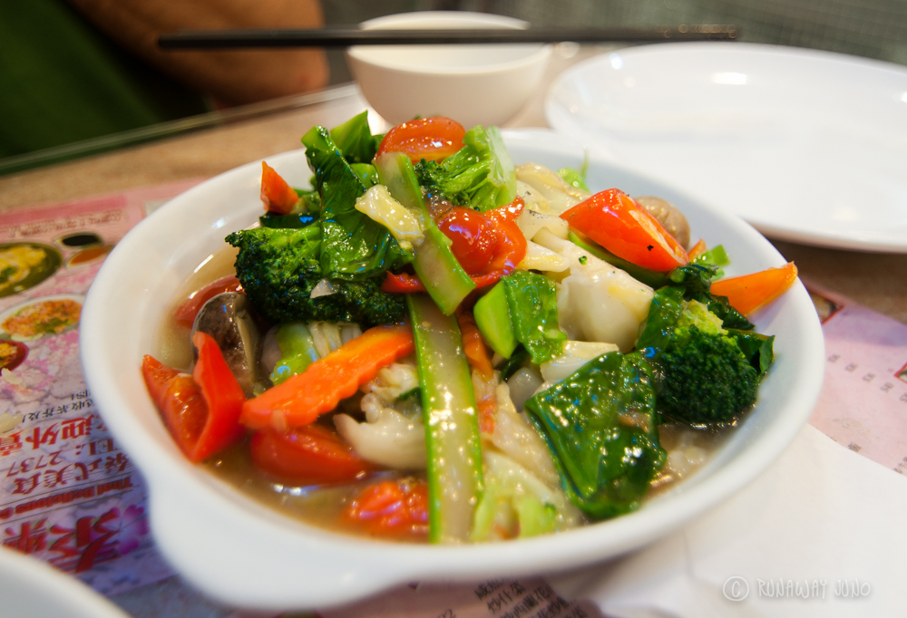 Thai Style Mixed Vegetables