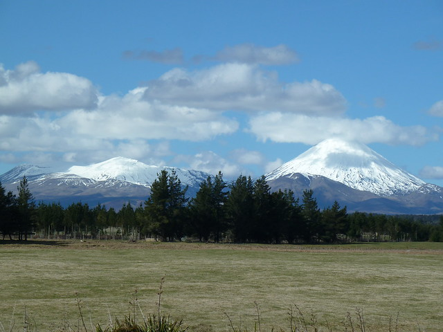 Mount Tongariro and Mount Ngauruhoe