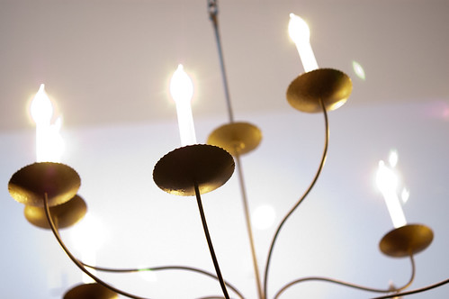 random chandelier