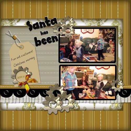 Santa has Been
