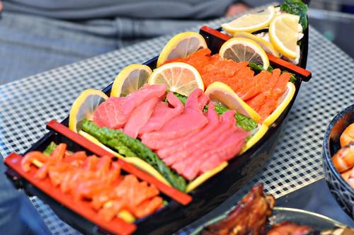 New Years Day Sashimi