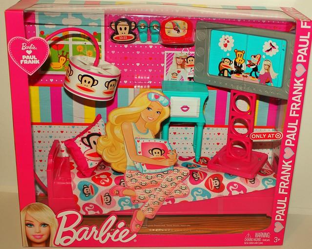 Paul Frank Bedroom In A Box: Barbie ♥ Paul Frank / Bedroom Set