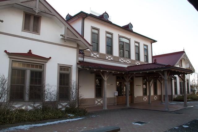 軽井沢旧駅舎