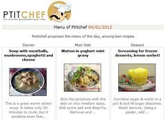 Lemon Sorbet Featured @ PtitChef