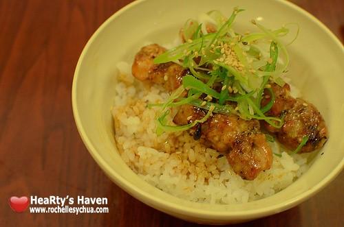 Yakitori Rice