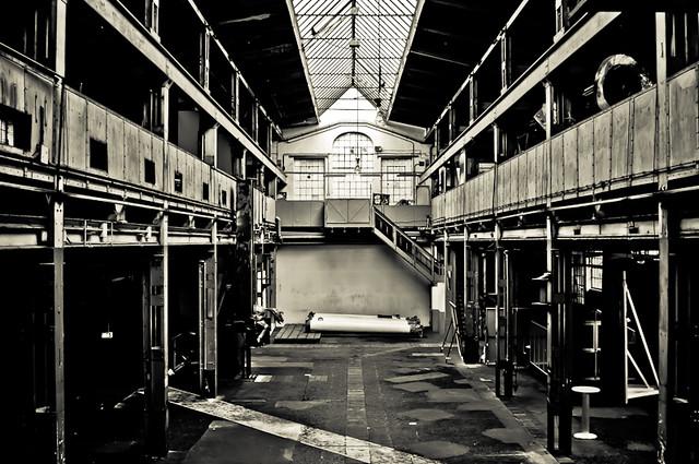 Industriekultur - Naxoshalle Frankfurt