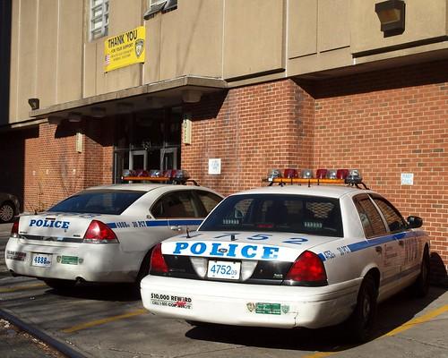 P030 NYPD Police Station Precinct 30, Hamilton Heights, New York City