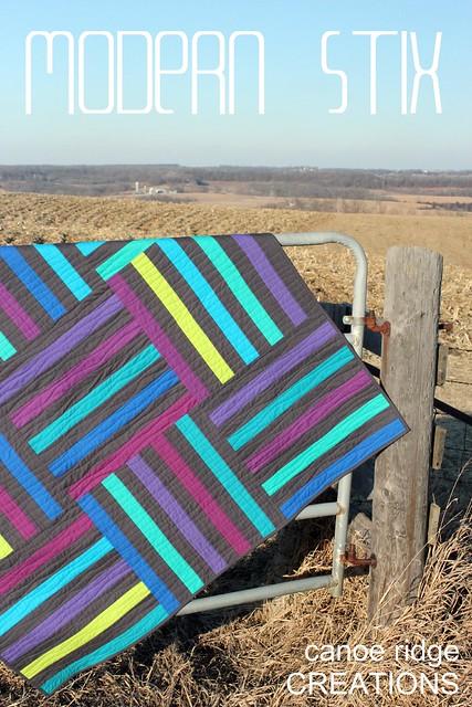 modern stix pdf quilt pattern!