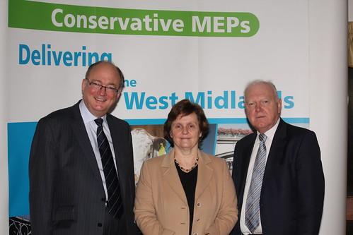 Malcolm Harbour MEP, Anthea McIntyre, Philip Bradbourn OBE MEP