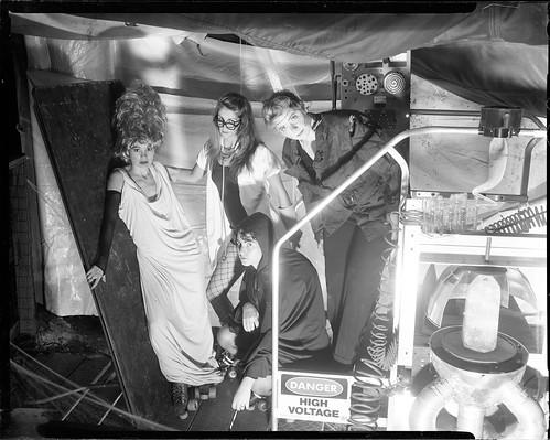 Greensboro Roller Derby - 2012 Calendar: Bride of Frankenstein (outtake)