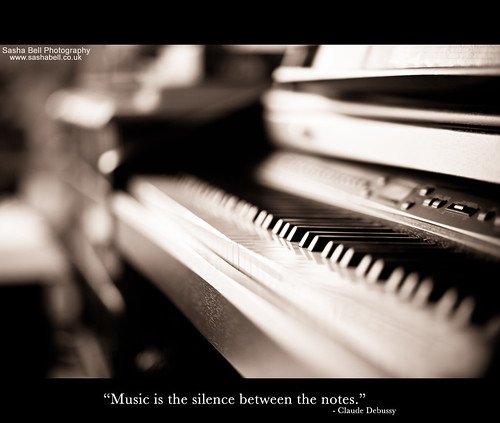 """Music is the silence between the notes"""