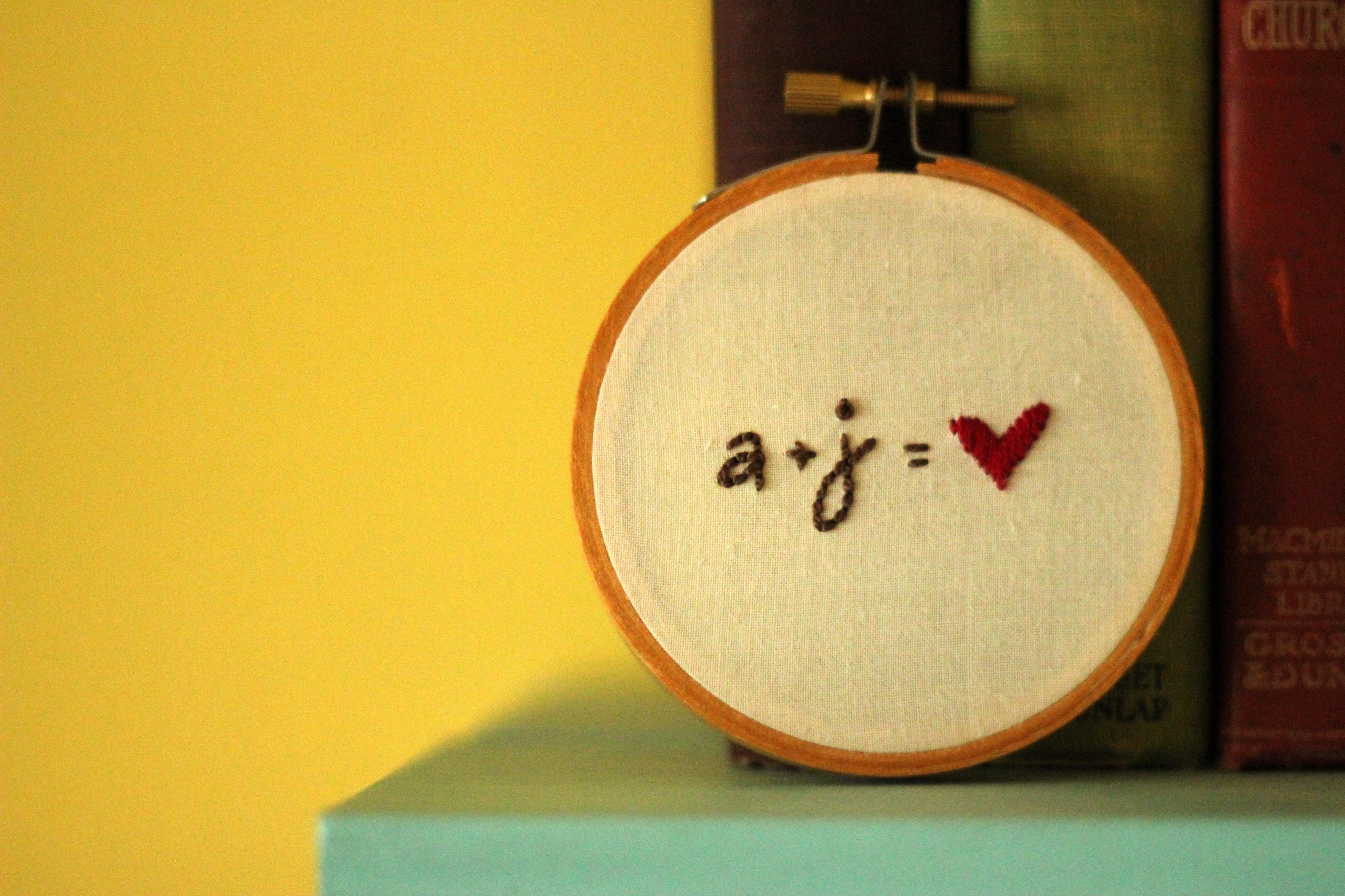 a + j = love