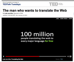 The man who wants to translate the Web