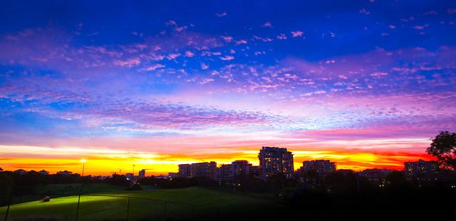 Vibrant Sky - [Explored]