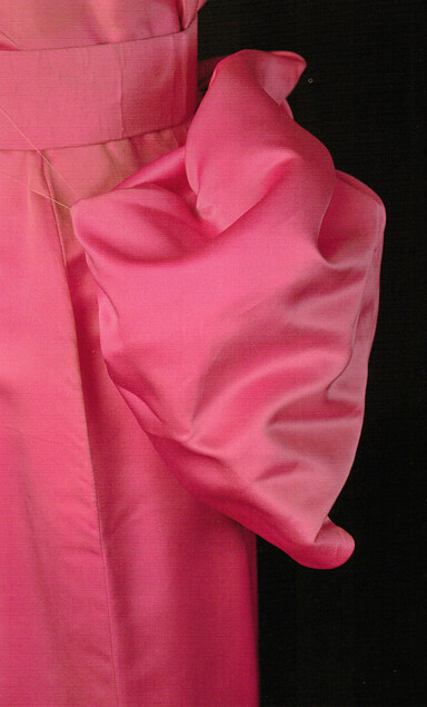 "Detail of the ""Diamonds are a Girl's Best Friend"" Dress from ""Gentlemen Prefer Blondes"""