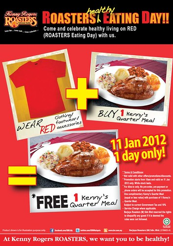 Kenny Rogers' Roasters Eating Day