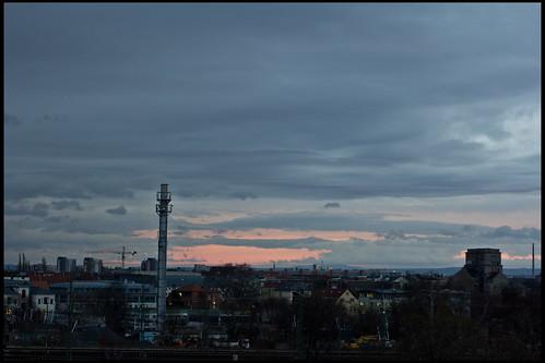 umgekehrter Sonnenaufgang