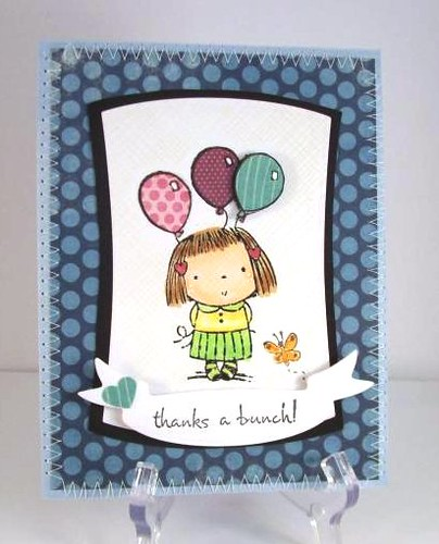 Penny Black Betsy Bluebell by judkajudy
