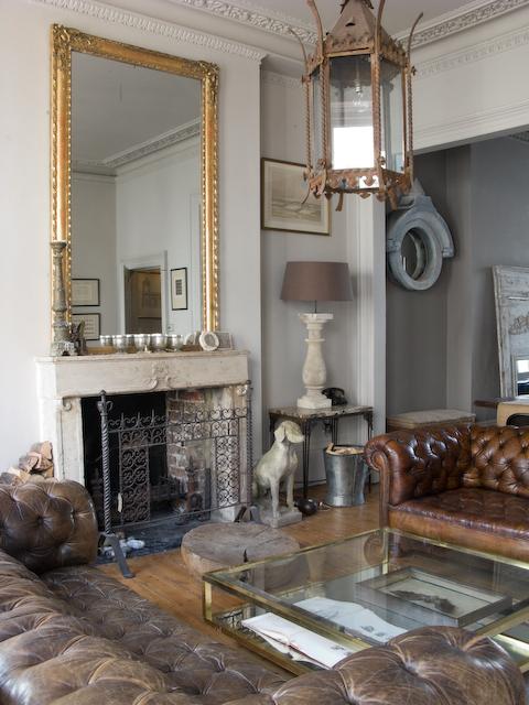 Alex macarthur eclectic vintage baroque modern living roo for Modern eclectic living room