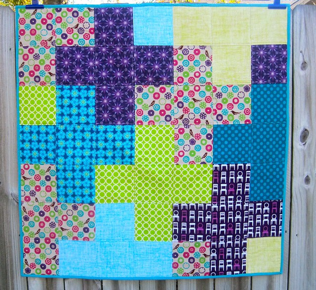 Purple plus quilt