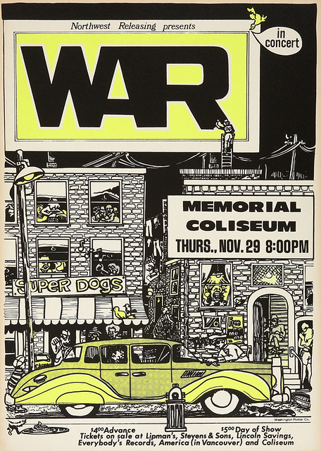 War Portland Memorial Coliseum Concert 1973