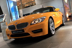 automobile, automotive exterior, exhibition, executive car, wheel, vehicle, performance car, automotive design, auto show, bmw z4, bumper, personal luxury car, land vehicle, luxury vehicle, supercar, sports car,