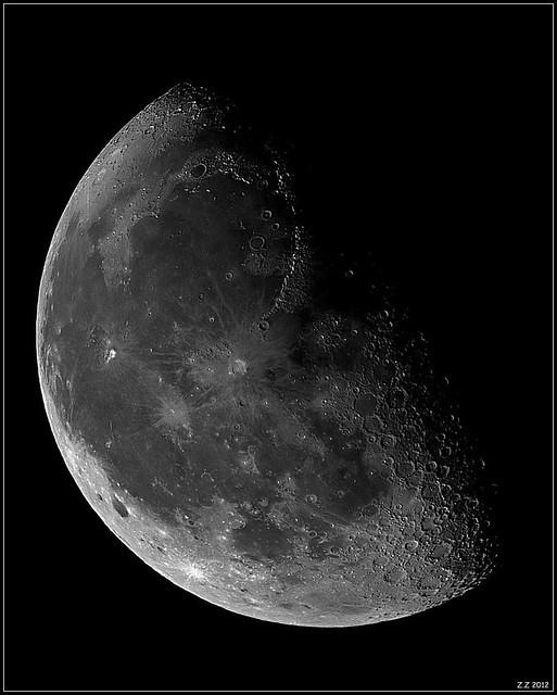 Luna en cuarto menguante - Nocturna - Comunidad Nikonistas