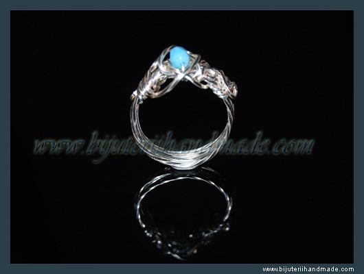Inel Delicate Blue   VANDUT