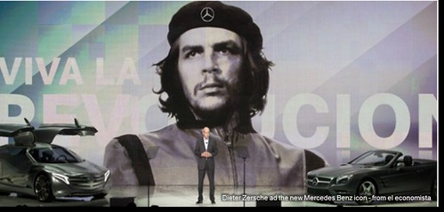 FOTO 1 - Che guevara icon of mercedes benz