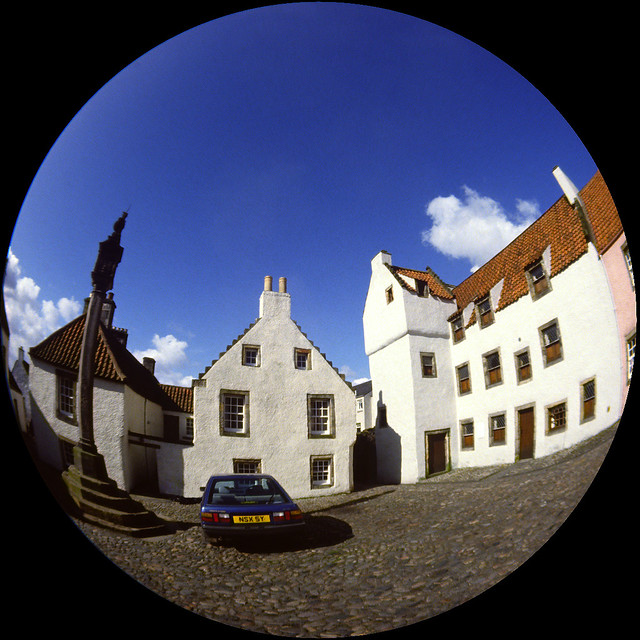 Culross in Fisheye