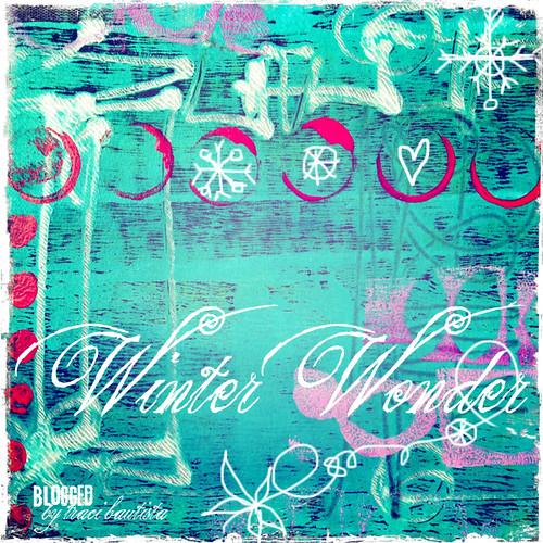 winter wonder FREE printable color palette