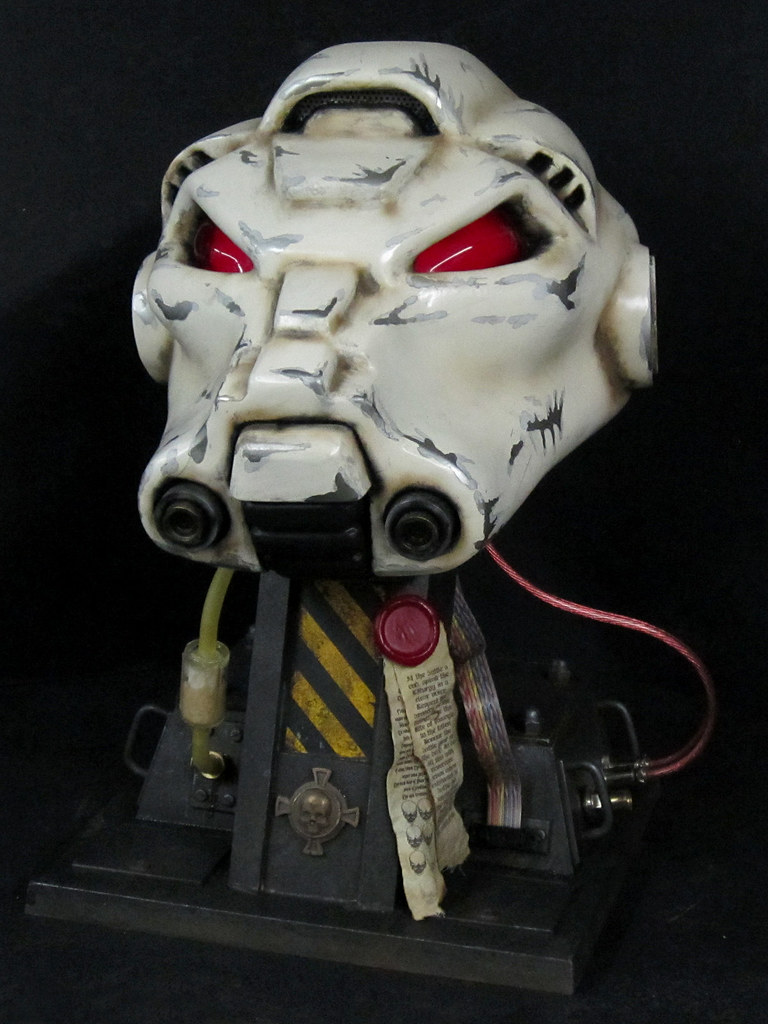 Terminator Helmet Finished Front